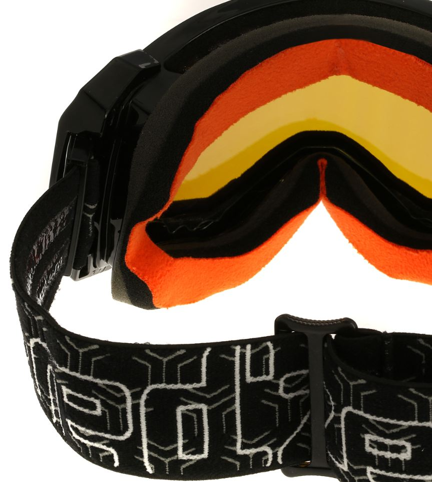 E-Tint sneeuwbril van wintersportmerk Wed'ze