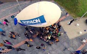 video openingsdag decathlon apeldoorn