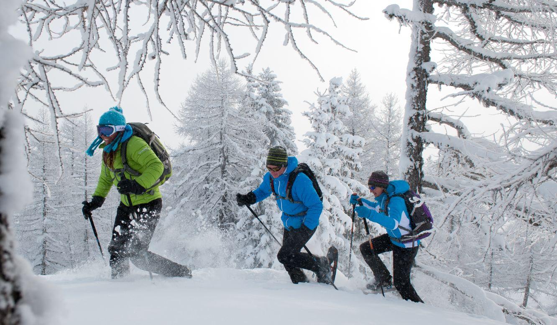 wandelen in de winter: sneeuwrackets
