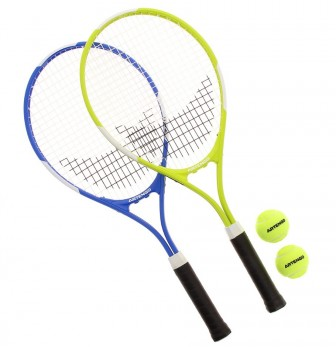 Artengo TR700 set blauw/geel €17, 95
