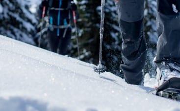 winterwandeling met sneeuwrackets