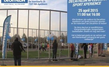Decathlon Apeldoorn SportXperience op 25 april 2015