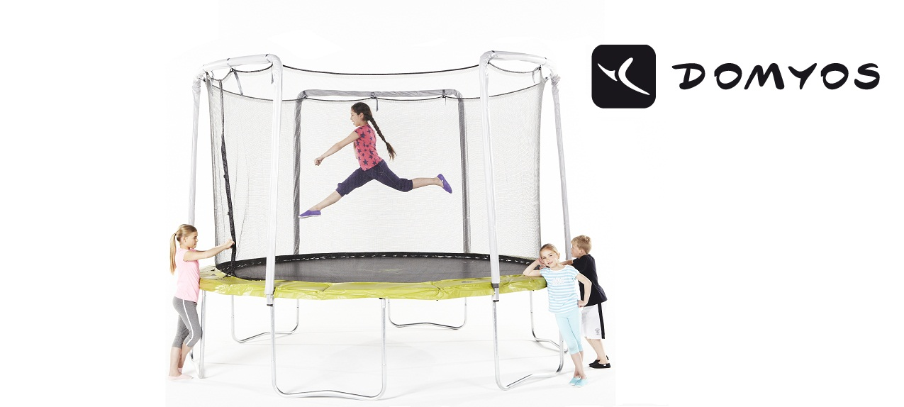 trampoline kopen tips van domyos decathlon blog. Black Bedroom Furniture Sets. Home Design Ideas