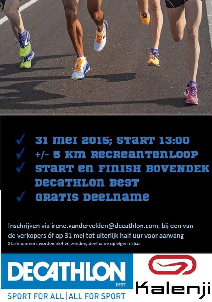 5km recreantenloop Decathlon Best