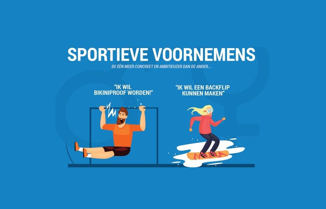 Sportieve voornemens